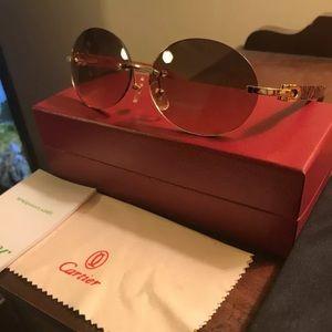 Cartier Wood Circle Buffs